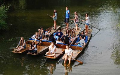 Punting on the Thames