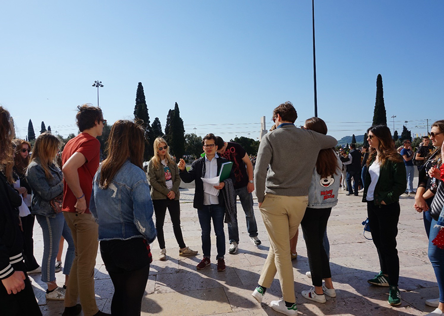 CAS experience to Lisbon 2019-8
