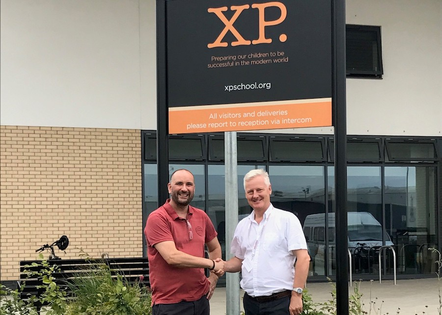 Principal Andrew Rattue at XP School