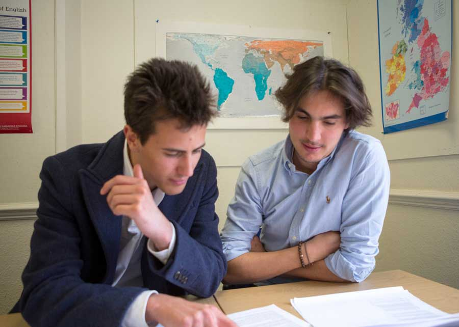 English Language courses for international students