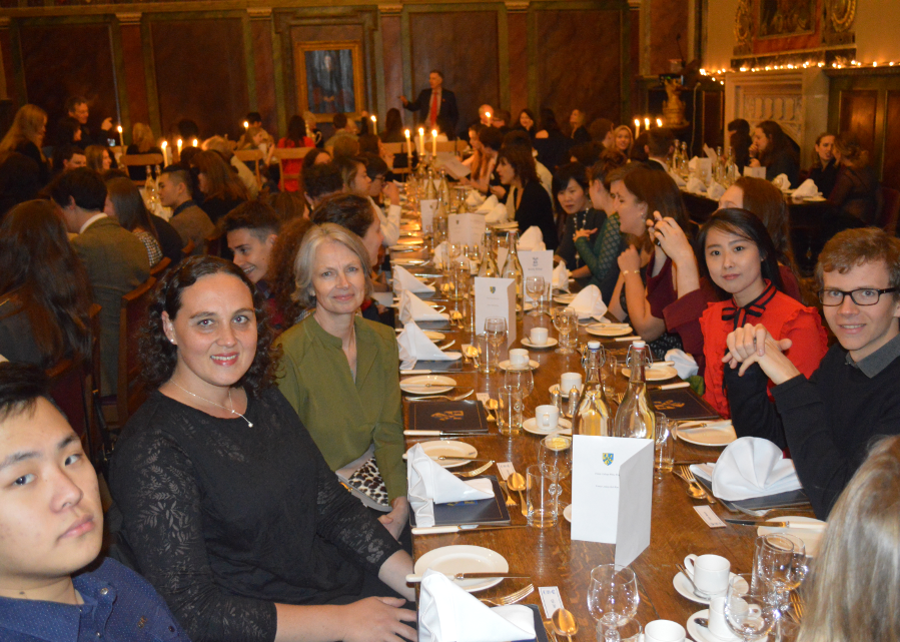 Welcome Dinner at Queen's College